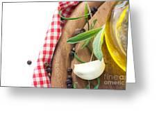 Cooking Ingredients Greeting Card