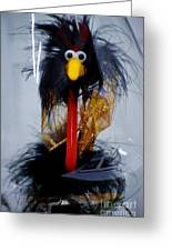 Cookoo Under Glass Greeting Card