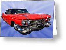 Cool Caddy Greeting Card