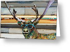 Cool Caribou Greeting Card