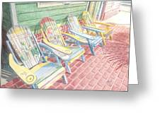Cool Chairs Greeting Card
