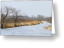 Cool Dreams Winter Greeting Card