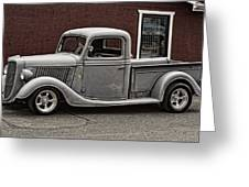 Cool Little Ford Pick Up Greeting Card