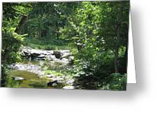 Cool Waters II Greeting Card