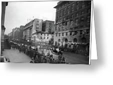 Coolidge Inauguration, 1925 Greeting Card