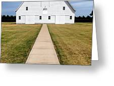 Cooper Barn Architectural Photograph By Jo Ann Tomaselli  Greeting Card by Jo Ann Tomaselli