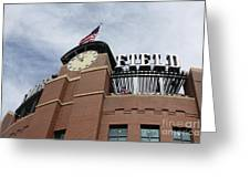 Coors Field 1 Greeting Card