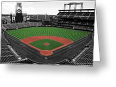 Coors Field 2 Greeting Card