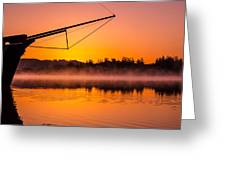 Coos Bay Sunrise II Greeting Card