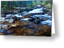 Copeland Falls 3 Greeting Card
