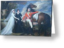 Copley's Colonel William Fitch And His Sisters Sarah And Ann Fitch Greeting Card