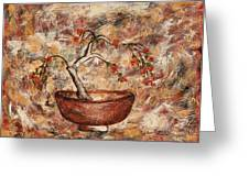 Copper Bowl Greeting Card