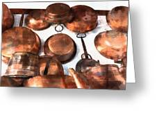 Copper - Featured In Inanimate Objects Group Greeting Card