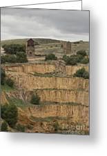 Copper Mine Greeting Card