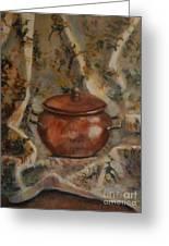 Copper Pot Greeting Card