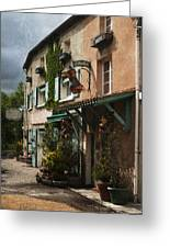 Copper Sales Store Durfort France Greeting Card