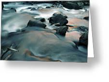 Copper Stream 1 Greeting Card