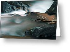 Copper Stream 2 Greeting Card