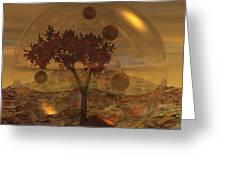 Copper Terrarium Greeting Card