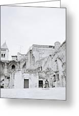 Coptic Jerusalem Greeting Card