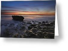 Coral Cove Beach At Dawn Greeting Card