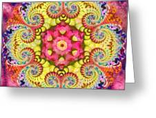 Coral Ecstacy Greeting Card