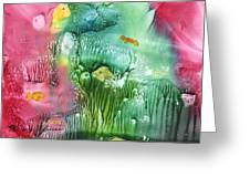 Coral Fishies Greeting Card