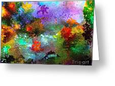 Coral Reef Impression 1 Greeting Card