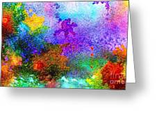 Coral Reef Impression 6 Greeting Card