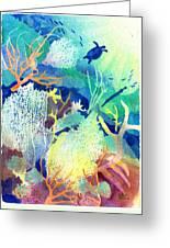 Coral Reef Dreams 2 Greeting Card