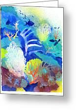 Coral Reef Dreams 3 Greeting Card