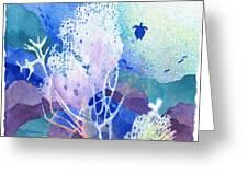 Coral Reef Dreams 5 Greeting Card