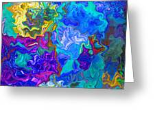 Coral Reef Fantasy Greeting Card