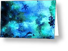 Coral Reef Impression 12 Greeting Card