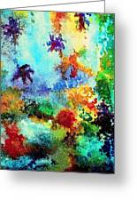 Coral Reef Impression 13 Greeting Card