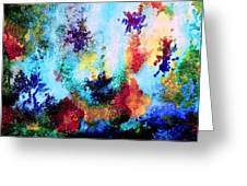 Coral Reef Impression 14 Greeting Card