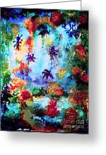 Coral Reef Impression 16 Greeting Card