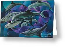 Corazon Del Mar  Greeting Card