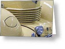Cord 812 Oldtimer From 1937 Grill Greeting Card