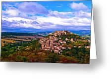 Cordes-sur-ciel France Greeting Card