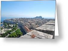 Corfu City Greeting Card