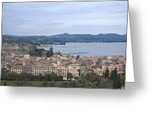 Corfu.new Port Greeting Card
