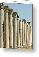 Corinthian Columns In Turkey Greeting Card