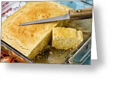 Corn Bread Greeting Card