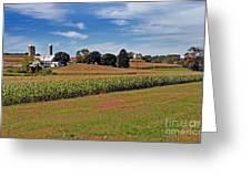 Corn Farmer Greeting Card