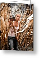 Corn Field Greeting Card