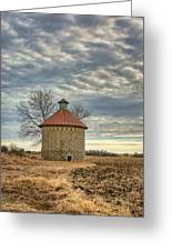 Corncrib #1 Greeting Card