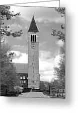 Cornell University Mc Graw Tower Greeting Card by University Icons