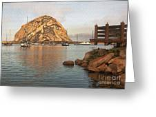 Corner Harbor Greeting Card