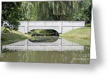 Corning Ny Denison Park Bridge Greeting Card